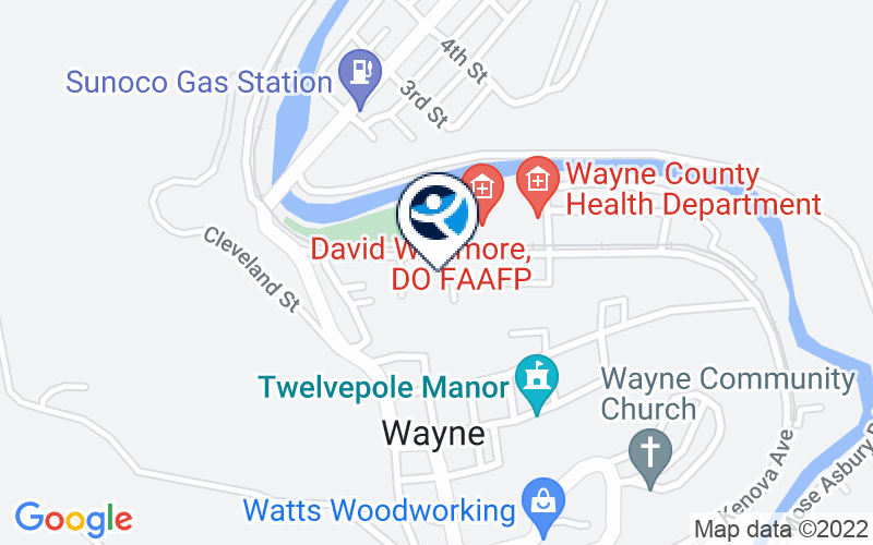 Prestera Center - Wayne County Location and Directions