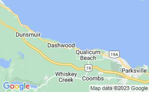 Map of Qualicum Beach RV Park