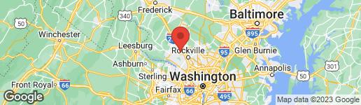 Map of 146 LAMONT LANE GAITHERSBURG, MD 20878