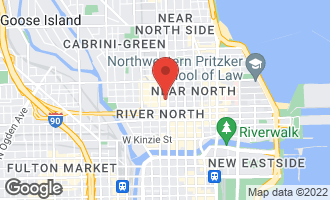 Map of 146 West Erie Street 14B CHICAGO, IL 60654