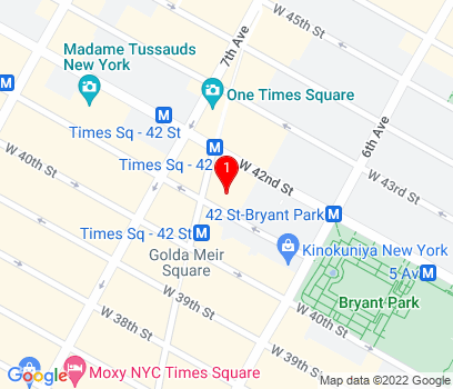 Google Map of New York