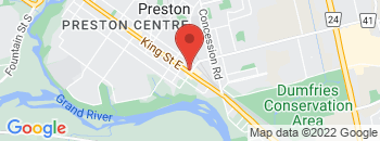 Google Map of 1461+King+Street+East%2CCambridge%2COntario+N3H+3R3