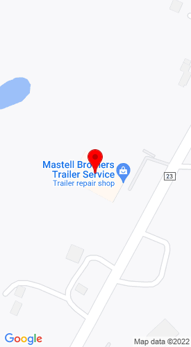 Google Map of Mastell Brothers Trailer Service Inc. 14636 Lake Drive NE, Columbus, MN, 55025