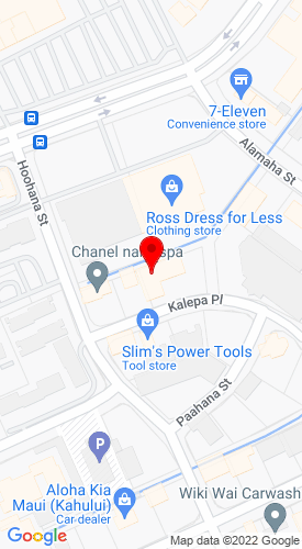 Google Map of Service Rentals & Supplies 147 Kalepa Place, Kahului, HI, 96732