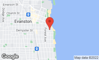 Map of 147 Dempster Street EVANSTON, IL 60201