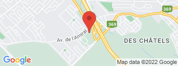 Google Map of 1475+Boul.+Pie+Xi+Sud%2CQuebec%2CQuebec+G3K+1H1