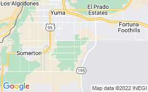 Map of Del Pueblo RV Park
