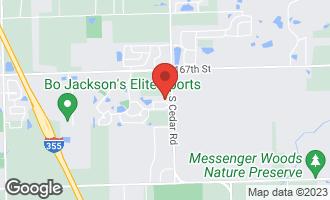 Map of 14832 Richton Drive LOCKPORT, IL 60441