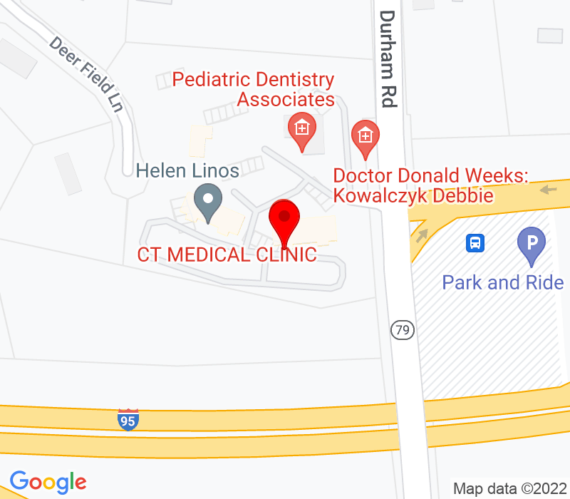 Click to view Google maps office address 149 Durham Rd, Suite 30, Madison, CT 06443