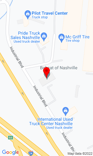 Google Map of Bobcat of Nashville 149 Industrial Blvd, La Vergne, TN, 37086