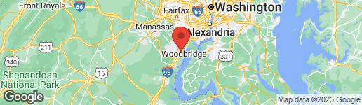 Map of 14908 HYATT PLACE WOODBRIDGE, VA 22191