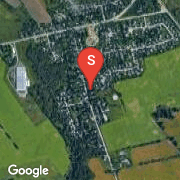 Satellite Map of 1491 Mannheim Road, Petersburg, Ontario