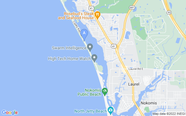 1492 Casey Key Rd Nokomis Florida 34275 locatior map