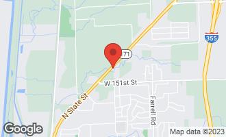 Map of 14929 Archer Avenue LOCKPORT, IL 60441
