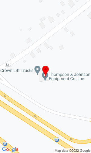 Google Map of Thompson & Johnson Equipment 15 Corporate Drive, Binghamton, NY, 13904
