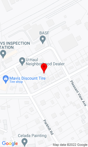 Google Map of Smith Tractor & Equipment Inc. 15 Hillcrest Avenue, Washington, NJ, 07882