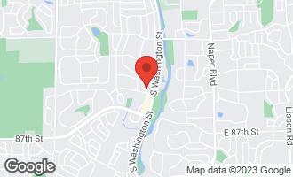 Map of 15 Foxcroft Road #207 NAPERVILLE, IL 60565