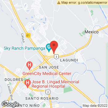 Map of American Eagle Outfitters at Jose Abad Santos Ave, Pampanga, Central Luzon 2021