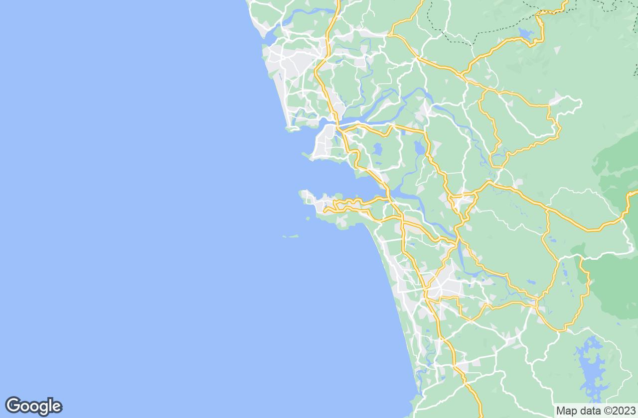 Google Map of فاسكو دا جاما