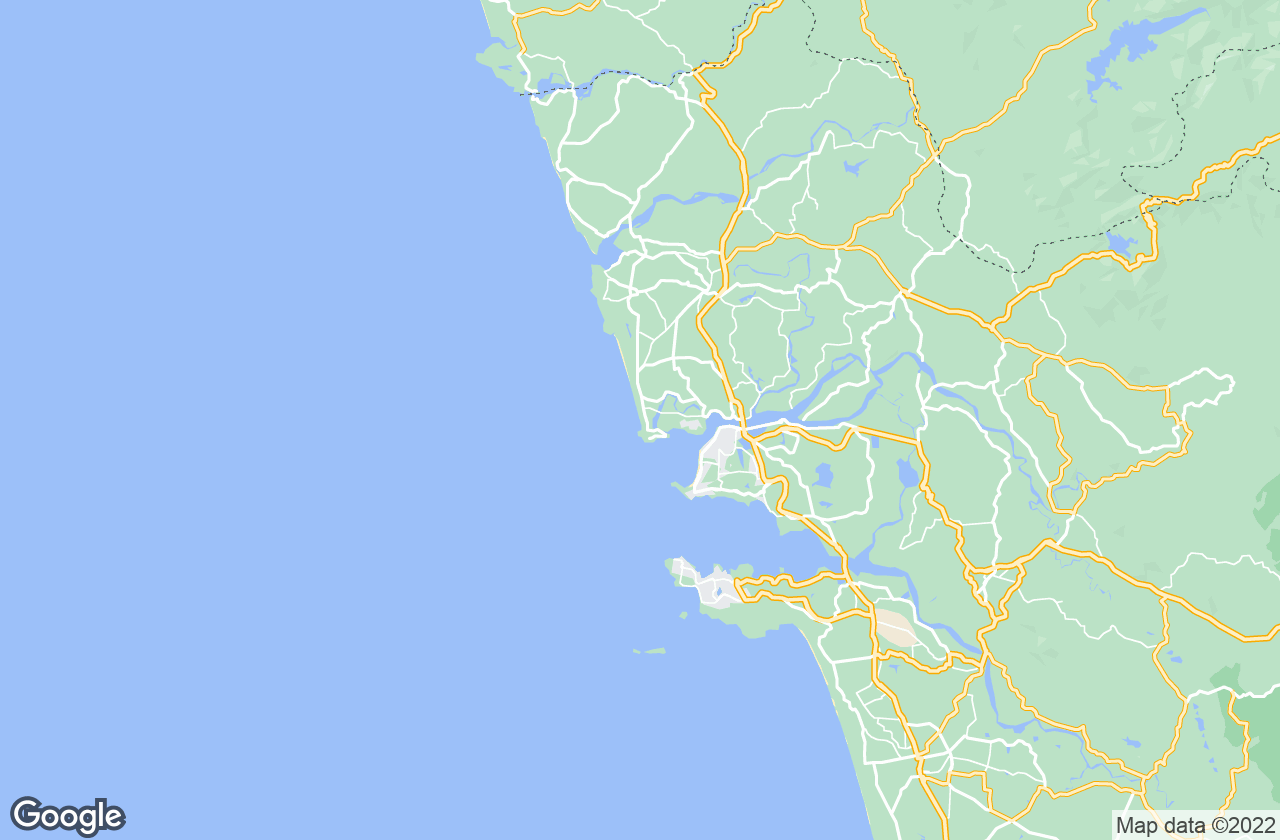 Google Map of Candolim