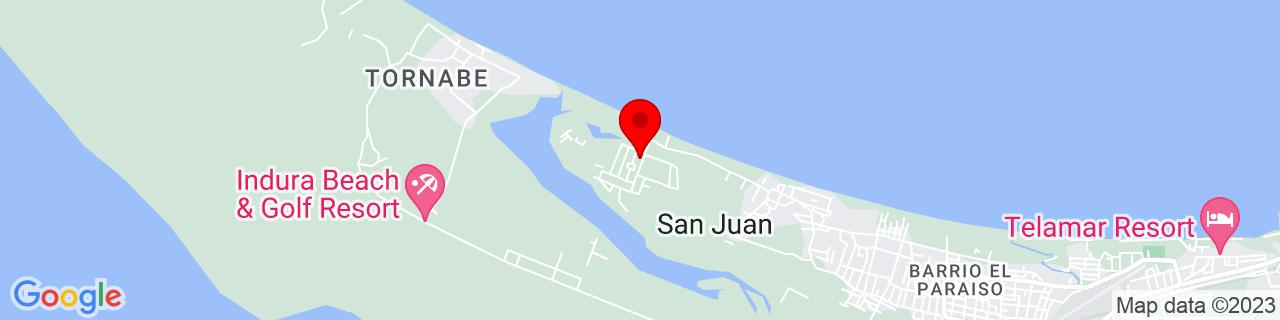 Google Map of 15.7878692, -87.5138688