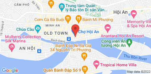 Directions to An Hy Vegetarian Restaurant