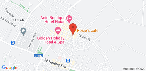 Directions to ROM Vegetarian Bistro - Hoi An
