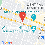 Road Map of 150 MAIN Street West - 408, Hamilton, Ontario