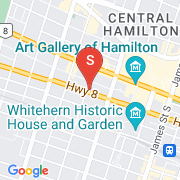 Road Map of 150 MAIN Street West, Hamilton, Ontario