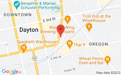 Map of The Downtown Box