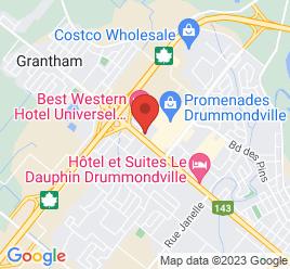Google Map of 150+Boul.+St-Joseph%2CDrummondville%2CQuebec+J2C+2A8