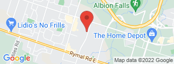 Google Map of 150+Hempstead+Drive%2F100+Nebo+Road%2CHamilton%2COntario+L8W+2E4