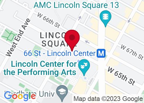Vivian Beaumont Theatre Google Maps Location
