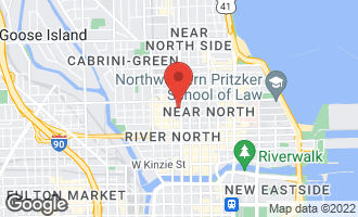 Map of 150 West Superior Street #801 CHICAGO, IL 60654