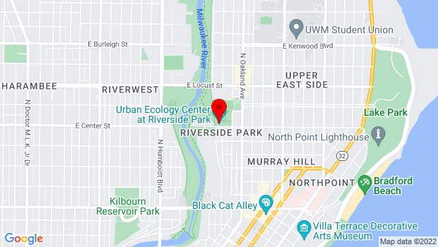 Google Map of 1500 E. Park Place, Milwaukee, WI 53211