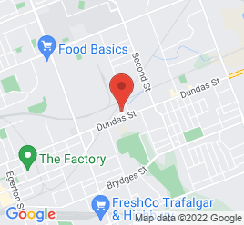 Google Map of 1500+Dundas+Street+East%2CLondon%2COntario+N5W+3B9