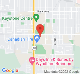Google Map of 1500+Richmond+Avenue%2CBrandon%2CManitoba+R7A+7E3