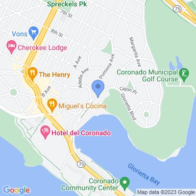 1501 Glorietta Blvd, Coronado, CA 92118, USA