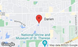 Map of 1501 Darien Lake Drive #306 DARIEN, IL 60561