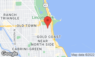 Map of 1501 North State Street 3A CHICAGO, IL 60610