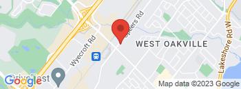 Google Map of 1502+Speers+Road%2COakville%2COntario+L6L+2X7