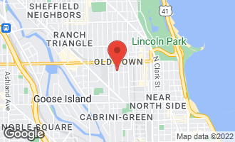 Map of 1502 North Cleveland Avenue #2 CHICAGO, IL 60610