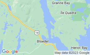 Map of Brown's Bay Resort