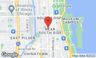 Map of 1503 South State Street #407 CHICAGO, IL 60605