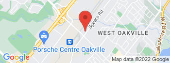 Google Map of 1505+Speers+Road%2COakville%2COntario+L6L+2X5