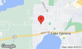 Map of 1509 Dodge Street LAKE GENEVA, WI 53147