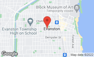 Map of 1510 Asbury Avenue EVANSTON, IL 60201