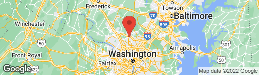 Map of 15100 INTERLACHEN DRIVE #317 SILVER SPRING, MD 20906