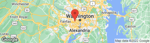 Map of 1512 HARRISON STREET N ARLINGTON, VA 22205