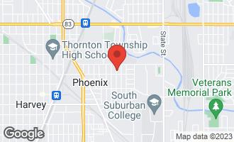 Map of 15135 6th Avenue Phoenix, IL 60426